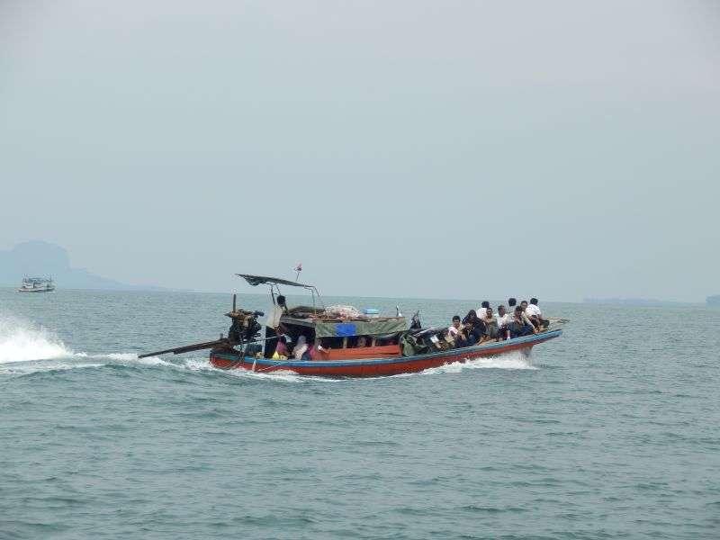 so sah unser Boot auch ungefähr aus