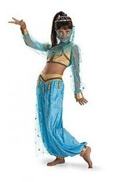 If you like princess jasmine s style and want a costume for halloween