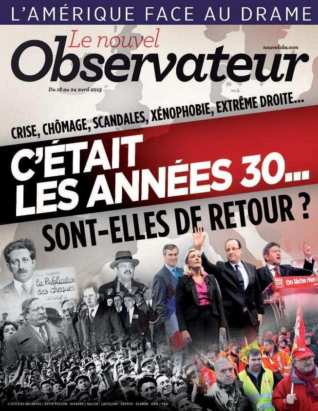 Le Nouvel Observateur N°2528 du 18 au 24 Avril 2013