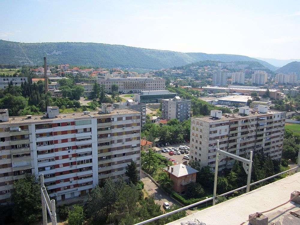 pogled s riječkih nebodera