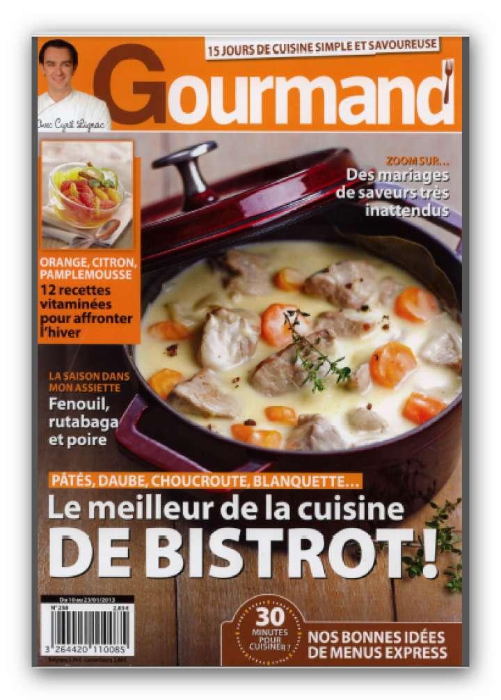 Vie Pratique Gourmand N°258 du 10 au 23 Janvier 2013