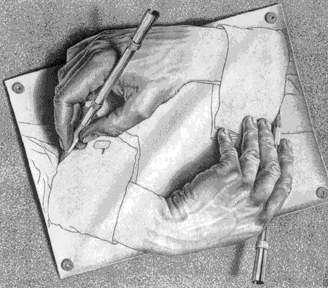 Mãos que se desenham