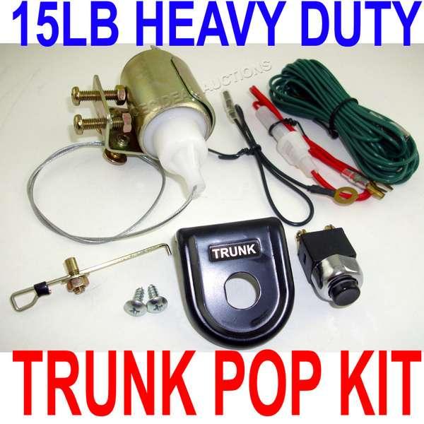 Trunk Release Electric Power Solenoid Actuator 522t Ebay