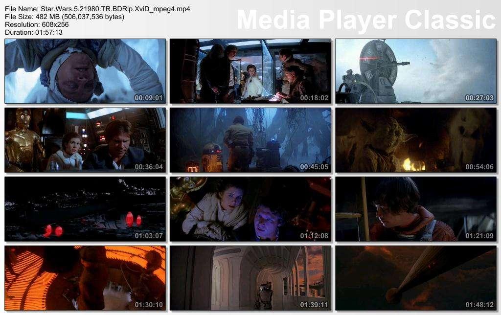 Yıldız Savaşları Serisi 1-2-3-4-5-6 Star Wars BoxSet - Türkçe Dublaj Mp4